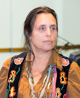 Native American Activist Laduke Addresses Sustainability