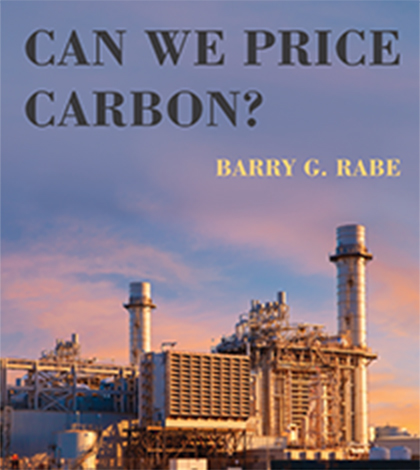 photo of book cover for Can We Price Carbon?