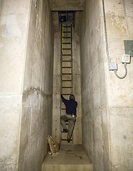 Rarely Seen Tunnel System Supports Building Operations