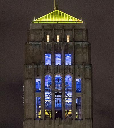 Burton Tower To Glow For Umich200 Spring Festival The