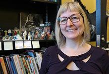 Photo of Jen Proctor in her office