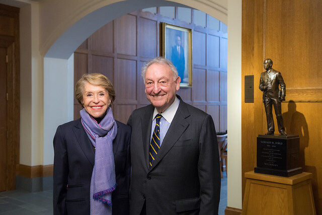 Joan and Sanford Weill