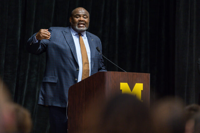 Robert Sellers, vice provost for equity and inclusion and chief diversity officer, provided an update Oct. 16 on U-M's five-year Diversity, Equity and Inclusion Strategic Plan.