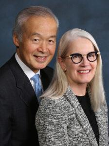 Photo of Tadataka and Leslie D. Yamada