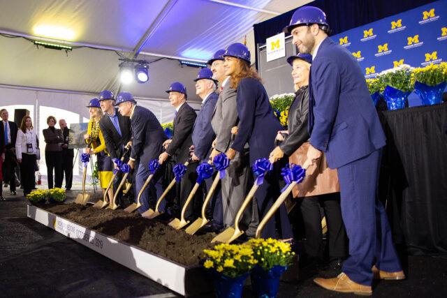 Photo of new hospital groundbreaking