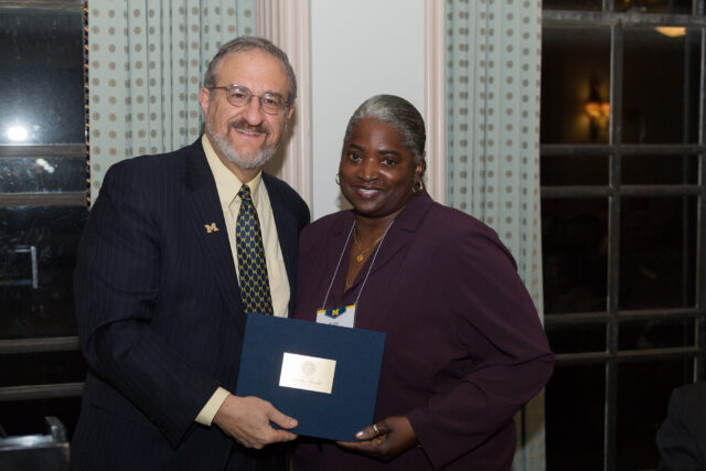 Photo of Mark Schlissel and Ketra Armstrong