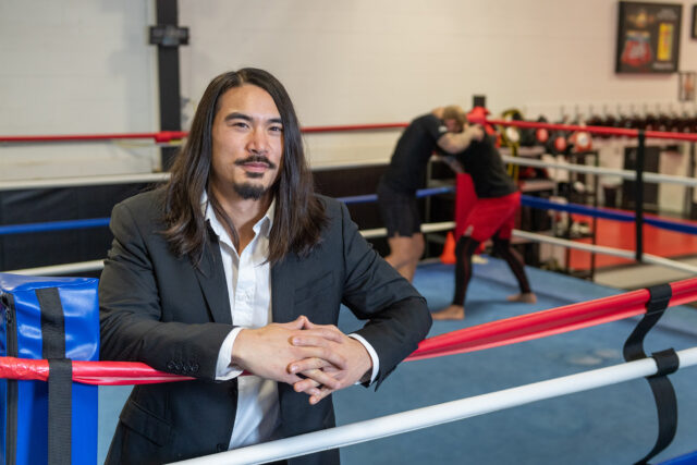 Photo of Neil Gong at Final Round Mixed Martial Arts.