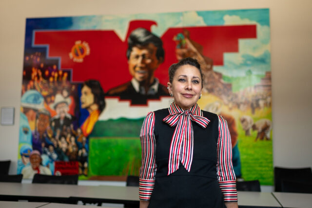 Maria Cotera, associate professor of American Culture and of women's studies, is a co-founder of the Chicana por mi Raza Digital Memory Project, a digital archive for documenting Chicana artifacts.