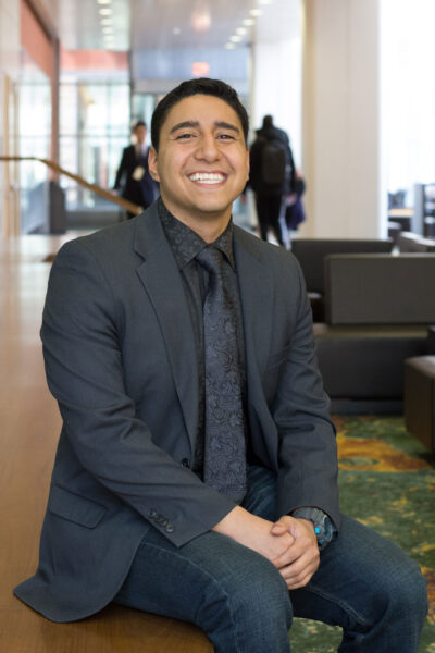 Maximillian C. Garcia III graduated with a degree in finance from the Stephen M. Ross School of Business.