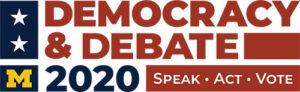 Democracy & Debate logo