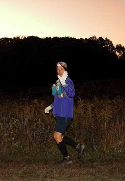 Drew Bennett most recently competed in the Mohican Run north of Columbus, Ohio, his first ultra-marathon in more than a year due to the COVID-19 pandemic. (Photo courtesy of Drew Bennett)
