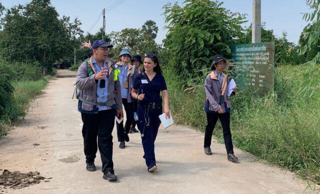 Kristiana Hila, a graduate nursing student, traveled to Thailand in November 2019 when she was a second-year nurse practitioner. (Photo courtesy of Kristiana Hila)
