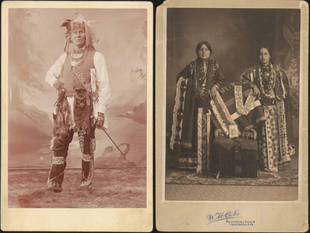 """The exhibition, """"'No, not even for a picture': Re-examining the Native Midwest and Tribes' Relations to the History of Photography,"""""""