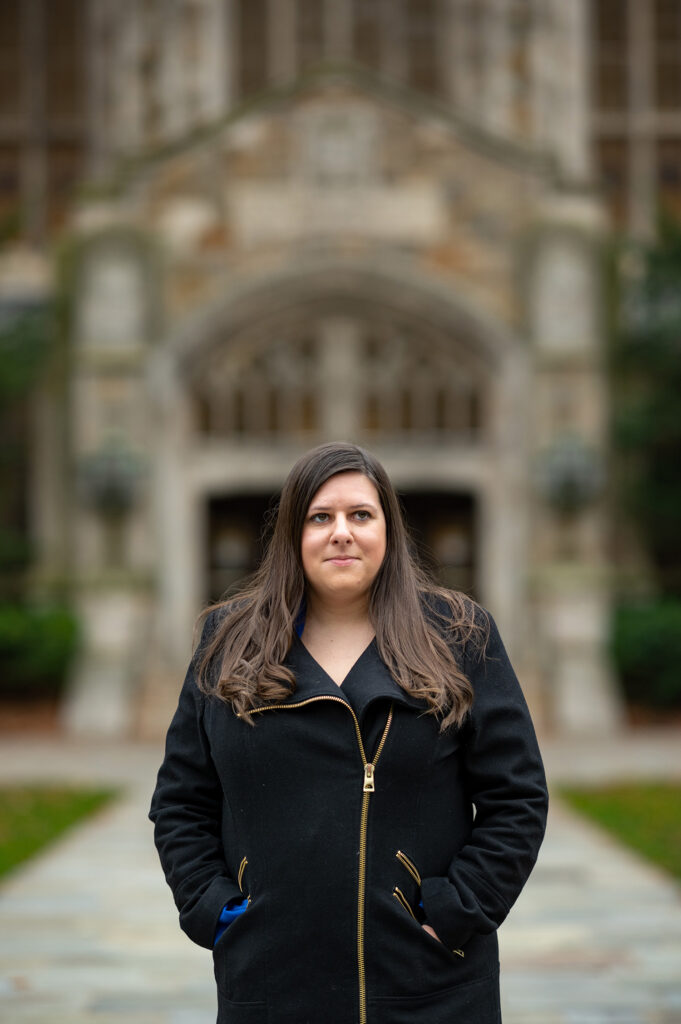 Rachael Kohl, who directs the U-M Workers' Rights Clinic, works with eight law students during the summer and more than 75 during the winter. (Photo by Eric Bronson, Michigan Photography)