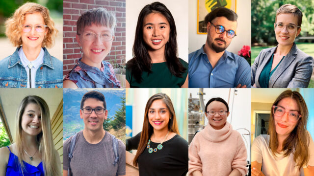 The 2020 ProQuest Distinguished Dissertation Award recipients were honored April 13. Awardees received a $1,000 honorarium recognizing exceptional scholarly work and completion of their doctoral degrees in 2020.