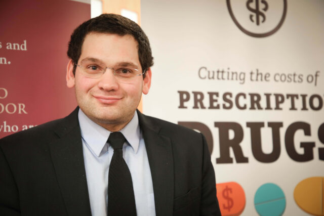 David Schapiro, a College of Pharmacy graduate, hopes to find a cure for Type 1 diabetes, a disease he has. (Photo courtesy of David Schapiro)