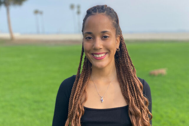 Tiffany Harris, an LSA student who double majored in political science and African American studies, wants to become a lawyer focusing on using restorative justice to help reduce gender-based violence in South Africa. (Photo courtesy of Tiffany Harris)