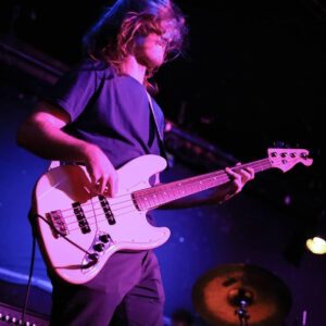 Burd plays bass in three bands and each year on his birthday raises funds for Music for Autism. (Photo courtesy of Joshua Burd)