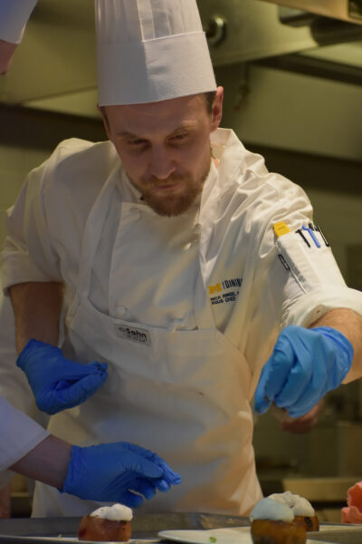 Nick Ringe, assistant manager at East Quad, has been with Michigan Dining since 2013 and worked in various roles in each of the nine residence halls at U-M. (Photo courtesy of Nick Ringe)