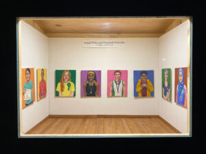 """The first exhibit shown in the Creal Microgallery was """"Small Wins and Personal Victories,"""" by Joe Levickas. (Photo courtesy of Joe Levickas)"""