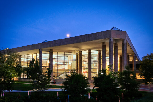 The James and Anne Duderstadt Center opened in 1996 as the Media Union and will mark its 25th anniversary with an open house-style week of events Oct. 4-8. (Photo courtesy of Duderstadt Center staff