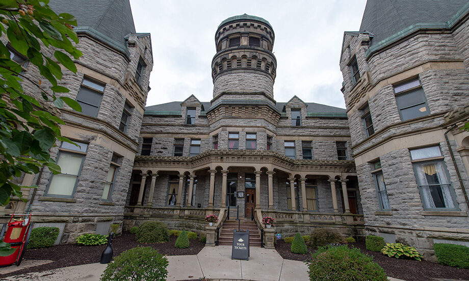Exterior photo of the Ohio State Reformatory