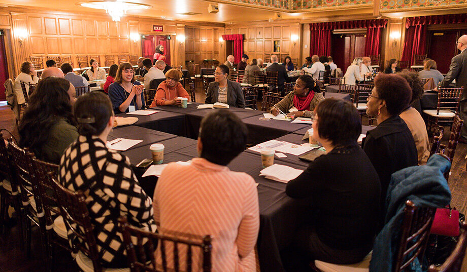 Photo of group discussion at um3detroit
