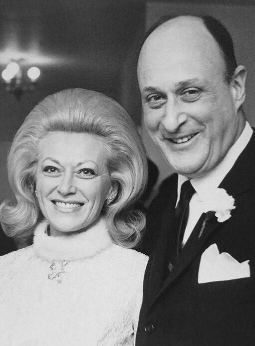 Photo of Patricia and John Mitchell