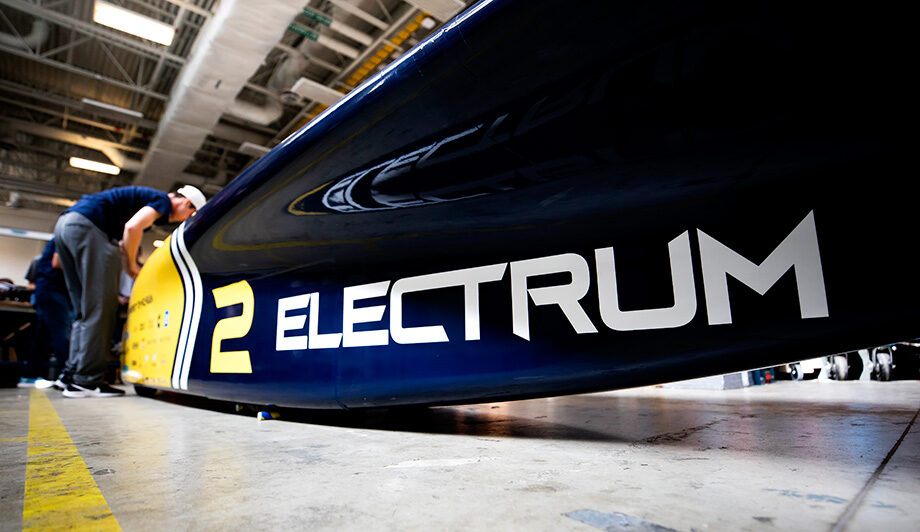 Electrum is the U-M Solar Car Team's 15th vehicle since the program began in 1989
