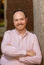 Photo of Robby Griswold, the communications and outreach coordinator for the Residential College