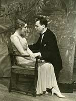 "On Jan. 21, 1931, students staged the comedy ""Rebound"" at the Lydia Mendelssohn Theatre."