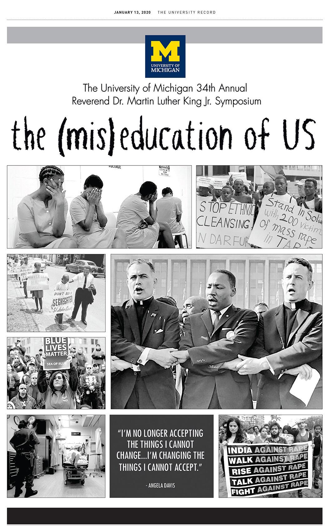 2020 Rev. Dr. Martin Luther King Jr. Symposium |  The University Record