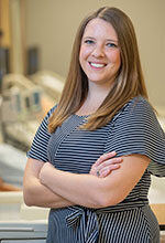 Jenna Long is an academic adviser with the School of Nursing