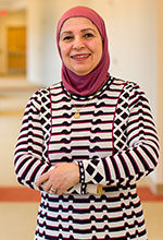 Samya Nasr, director of the Cystic Fibrosis Center and a professor of pediatrics