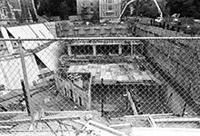 On Sept. 5, 1979, the Law School's underground library was a work in progress.