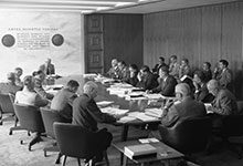 On Sept. 22, 1954, the Board of Regents opened its meeting to the media for the first time.