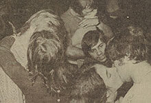 """On Dec. 11, 1972, students locked lips at South Quad for the second annual """"kissing contest."""" Read about some of the other things that happened in U-M history during the week of Dec. 7-13."""