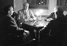 A Jan. 11, 1939, power outage at the Michigan Union left faculty members playing cards by candlelight. Read about some of the other things that happened in U-M history during the week of Jan. 11-17.