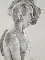 Drawing of Dave Moran